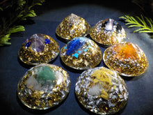 Orgonite lot 7 chakras.