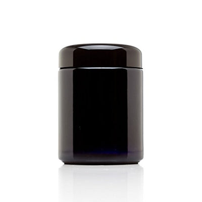 MIRON Violettglas 250ml - Ultraviolet Storage Container | Airtight Smell Proof | Screw Top Jar