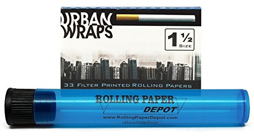 Urban Wraps Filter Printed Rolling Papers with Rolling Paper Depot Doobtube