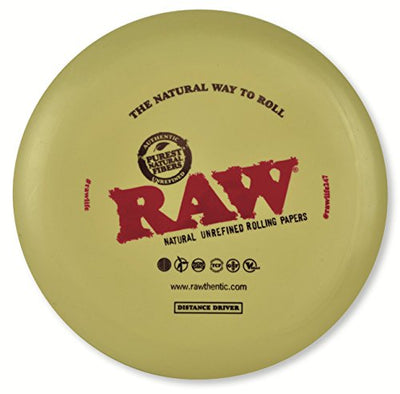 RAW Natural Unrefined Rolling Papers - Disc Golf Distance Driver
