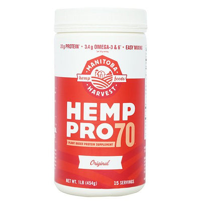 MANITOBA HARVEST HEMP PRO 70,CONCENTRATED, 16 OZ