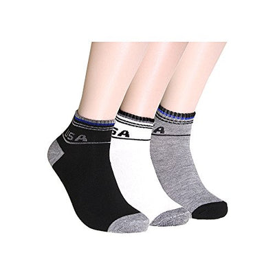 12 Pairs Men's Classic Low Cut Ankle Socks Thin Great for Summer