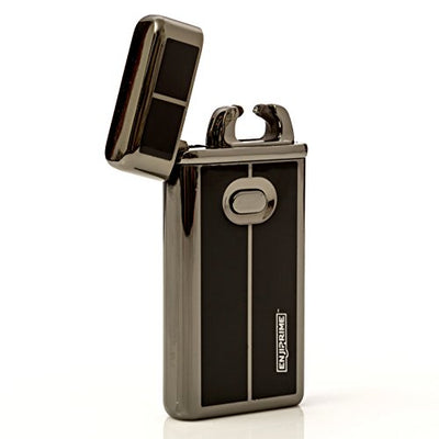 70% off end soon, Hurry, Best 2016 USB plazmatic Electric Rechargeable Arc Lighter, Enji Prime, spark At The Push Of a Button, Flameless, Windproof, Eco Friendly & Energy Saving