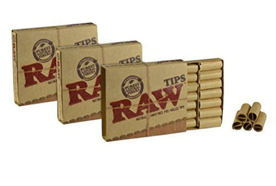 RAW Natural Unrefined Pre-Rolled Tips