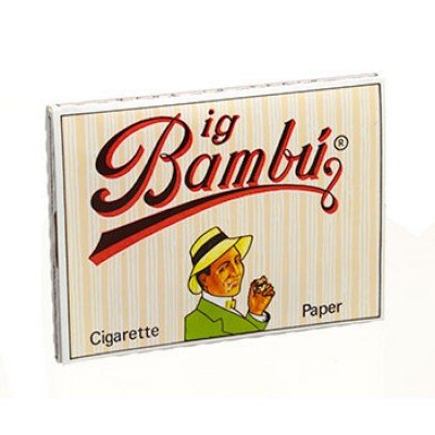 4 Packs Booklets of Big Bambu Cigarette Rolling Papers