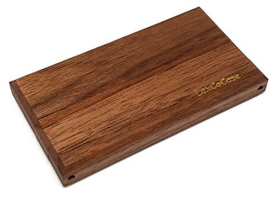 LexCo Wood Cigarette Case A3 - Holds 3 Unfiltered or Hand Rolled Cigarettes