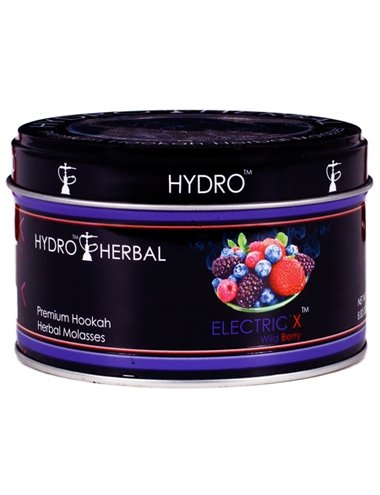 Hydro Herbal 250g Wild Berry Hookah Shisha Tobacco Free Molasses