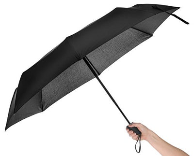 TripWorthy Travel Umbrella Windproof Compact Lightweight Durable Auto Open Feature Convenient for Travelers or Professionals Men or Women