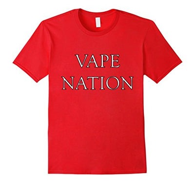 VAPE NATION Shirt Vaporizer For Vaping Juice Cannabis Vapor
