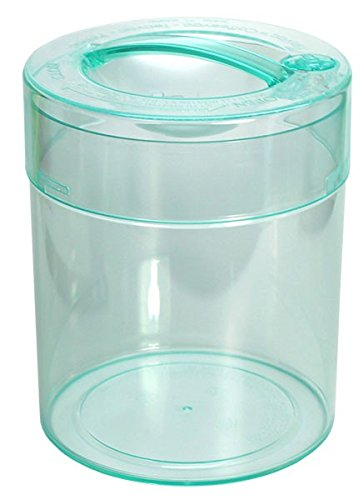 Kilovac - 8 oz to 2.5 lbs Airtight Multi-Use Vacuum Seal Portable Storage Container for Dry Goods, Food, and Herbs - Clear Body/Cap
