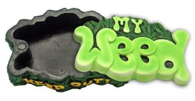 Novelty 420 Polyresin Box w/Magnet 3.5""