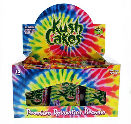 Kush Cakes - The Premium Relaxation Brownie