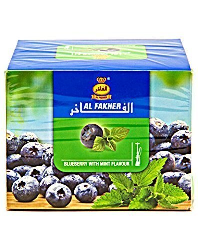 Al Fakher (Blueberry with mint & Orange with mint )-Variety Pack- 250g ...2 PACK