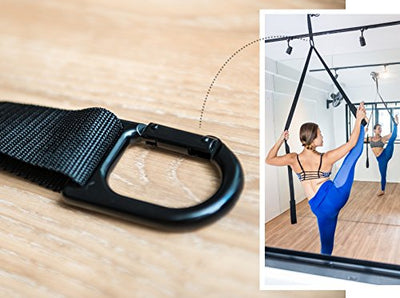 10X Stretcher: Flexibility & Deep Stretching - Best For Ballet, Taekwondo, Dance, Gymnastics, Yoga or Rehabilitation - Easy To Use Premium Stretch Strap