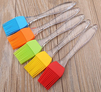 3Pcs Set 8 inch Hot Selling BBQ Tools Silicone Basting Brush Heat resistant Orange Coloured, 3Pcs/Set. Cooking & Grilling , Oil & Pastry Brush