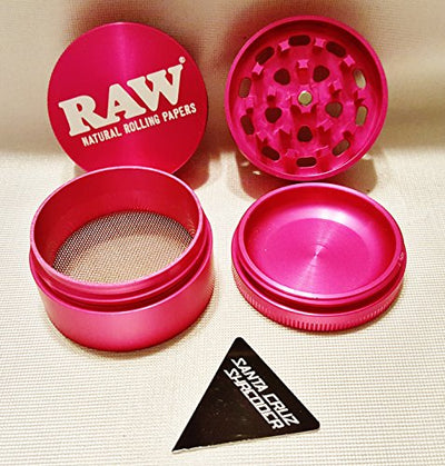 RAW & Santa Cruz Shredder 4 Piece - Herb Grinder