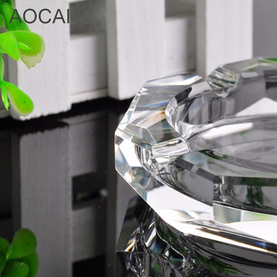 100mm Crystal Ashtray