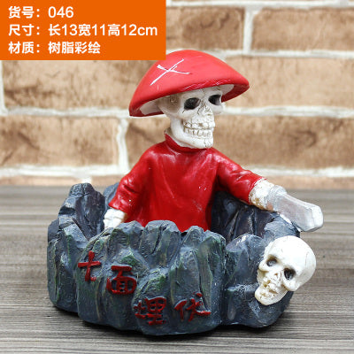 Skull Ashtray