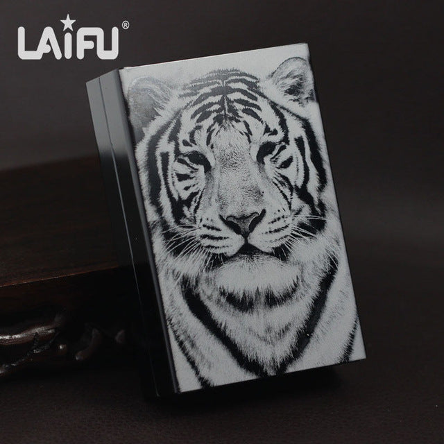 Wolf Ultra Thin Cigarette Case Box