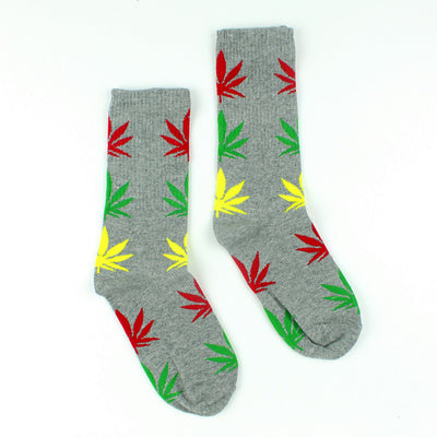 Rock And Roll Long Weed Socks