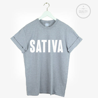 SATIVA Weed T-Shirt