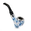 Durable Porcelain Resin Tobacco Pipe