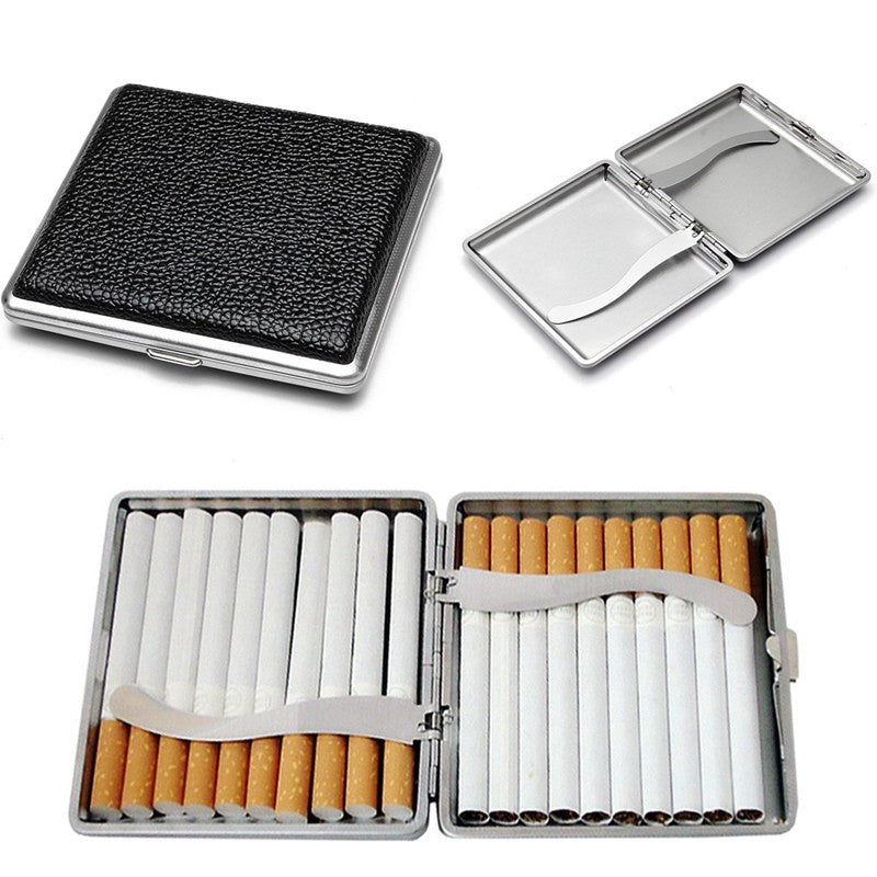 20 Pcs Leather Pocket Cigarette Case