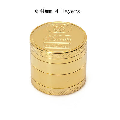 40mm 50mm Coin Shape Hand Muller Herb Crusher