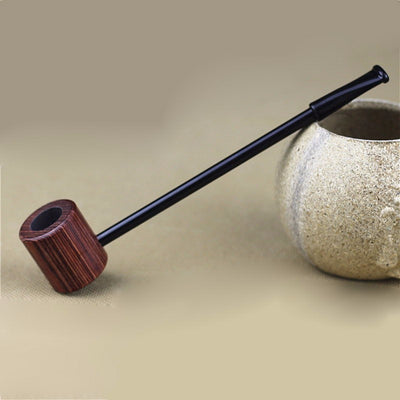 New Vintage Enchase Wooden Smoking Pipe