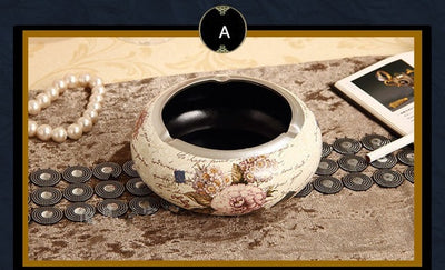 Classic Luxurious Resin Ashtray