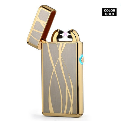 Thin 11mm LED Double Arc Lighter