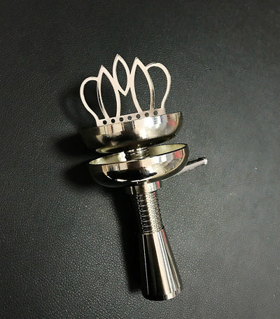 Crown Shisha Head Bowl Charcoal Holder