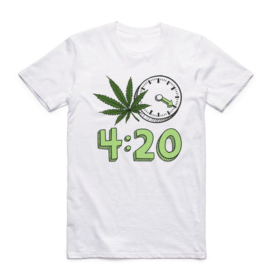Weed 420 it's Time T-shirt