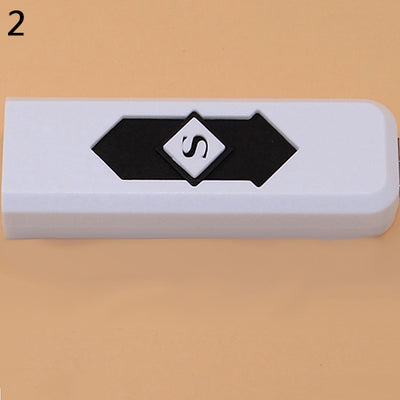 Portable USB Electric Flameless Windproof Lighter