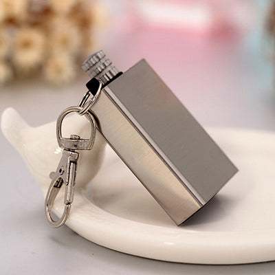 Portable Square Stainless Steel Lighter