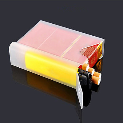 10 pcs/set Transparent Portable Cigarette Case
