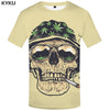 Skull Weed Leaves T-shirt