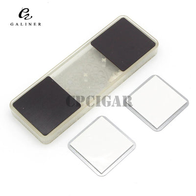 Transparent Rectangle Crystal Gel Cigar Humidor