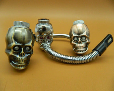 Skull Head Smoking Pipes