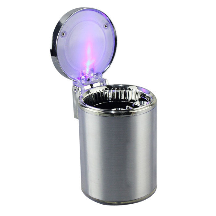 Movable LED Light Ashtray