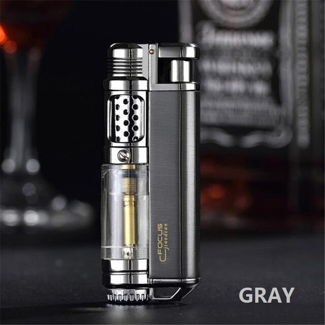 Luxury Flame Jet Cigar Lighter