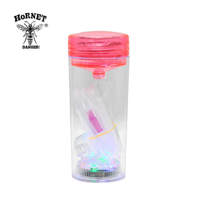 Bottle Shisha Portable Hookah With LED Light And Silicone Hose