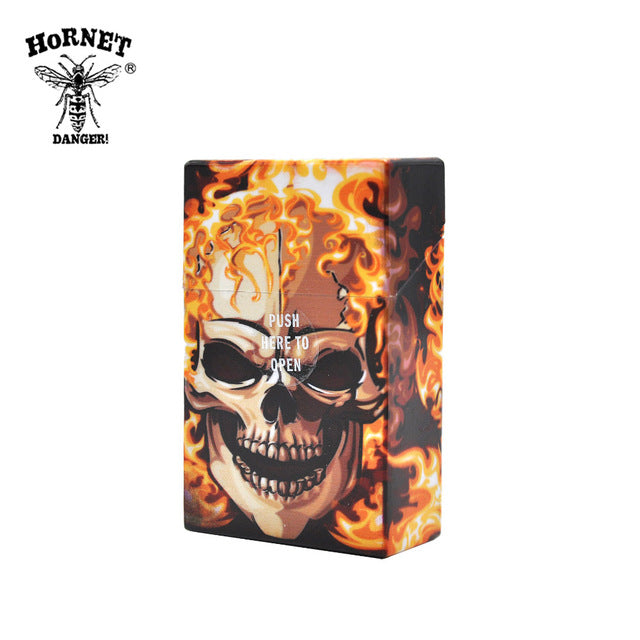 Skull 95mm*60mm Cigarette Storage Case