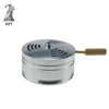 Metal Hookah Charcoal Holder with Handle