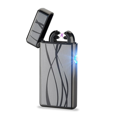Double Plasma Arc Windproof Dragon Lighter