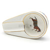 Retro Luxury Horse Portable Ceramic Ashtray