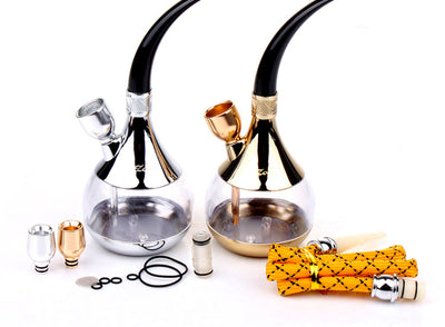 Classic Double Filter Water Pipes