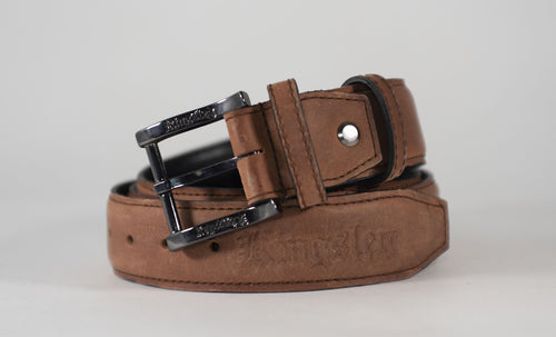 Kingsley Belt - Gaucho Chestnut