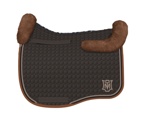 Mattes Eurofit Pad - Large - Brown/Whiskey