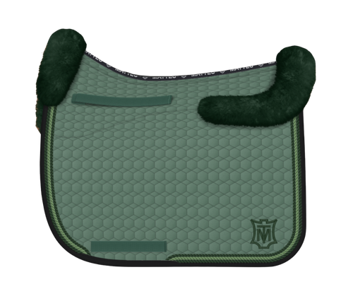 Mattes Square Pad - Large - Green